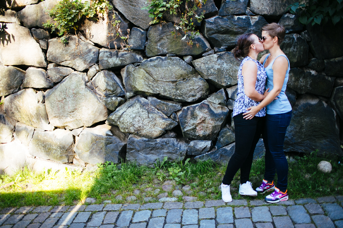 HBTQbröllop stockholm
